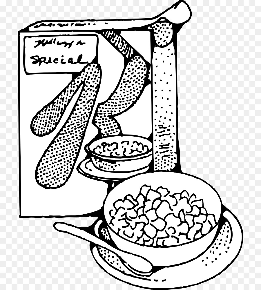 Breakfast clip art pictures. Cereal clipart cereal milk