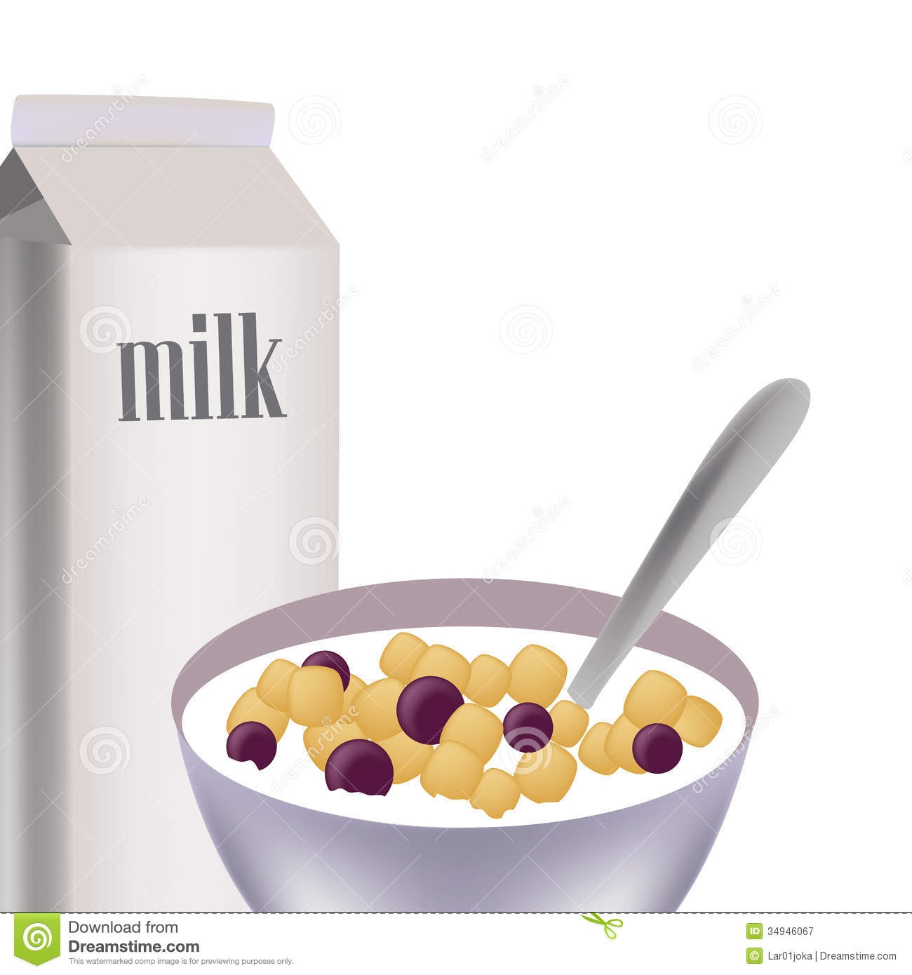 Unique gallery digital collection. Cereal clipart cereal milk