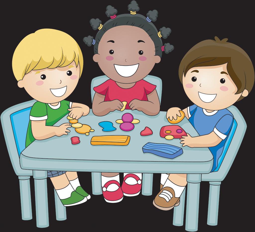 clipart children desk