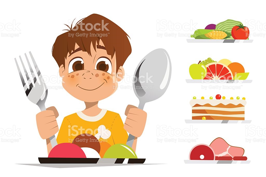 Cereal clipart child. Kid eating movieweb