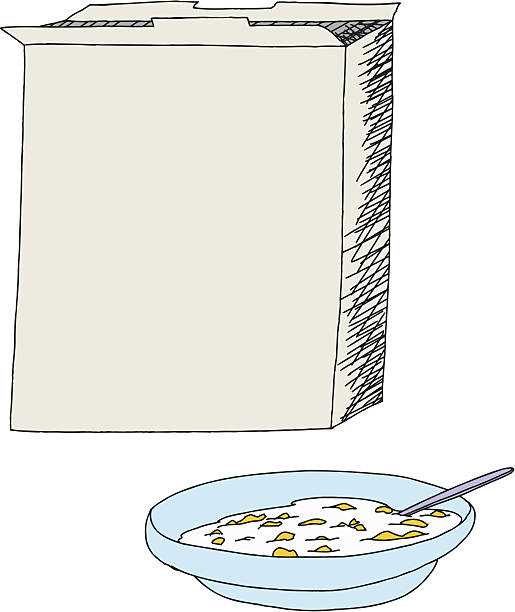 Cereal clipart cute. Blank pencil and in