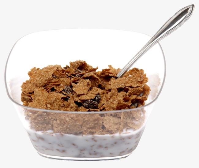 Cereal clipart english. Raisin bran milk spoon