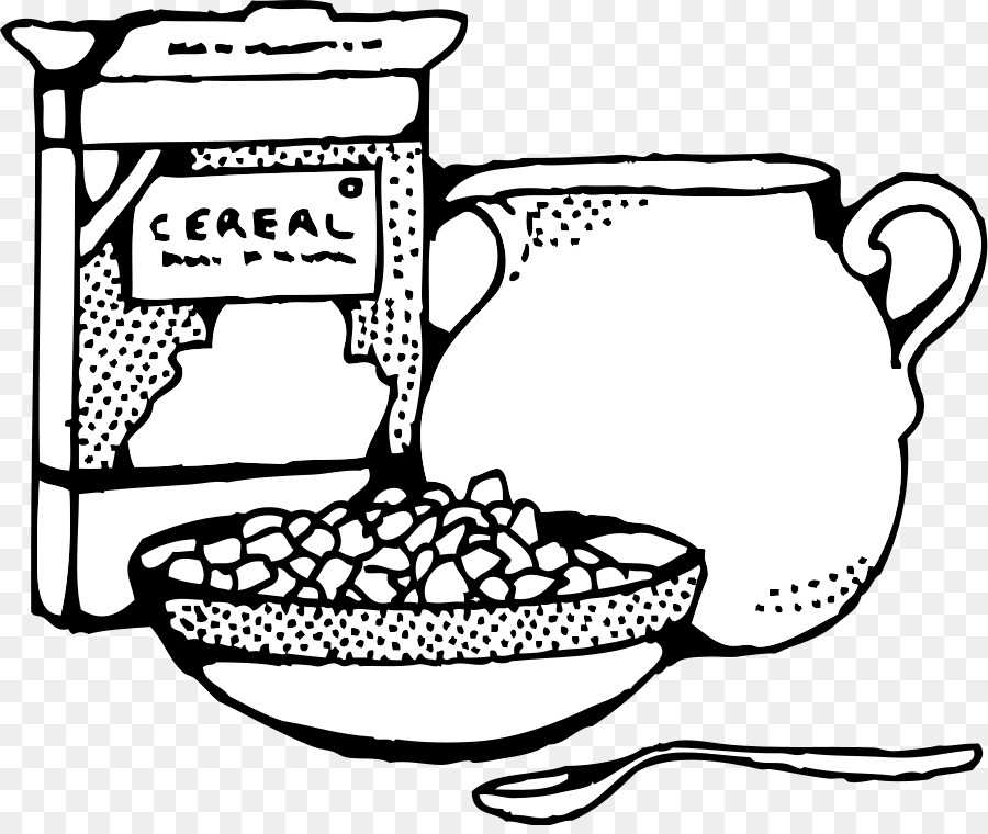 Cereal clipart english. Breakfast milk corn flakes