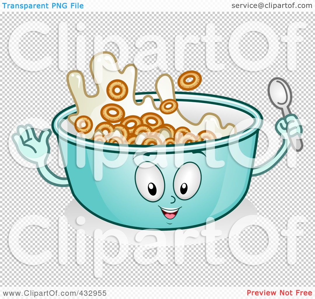 Cereal clipart transparent