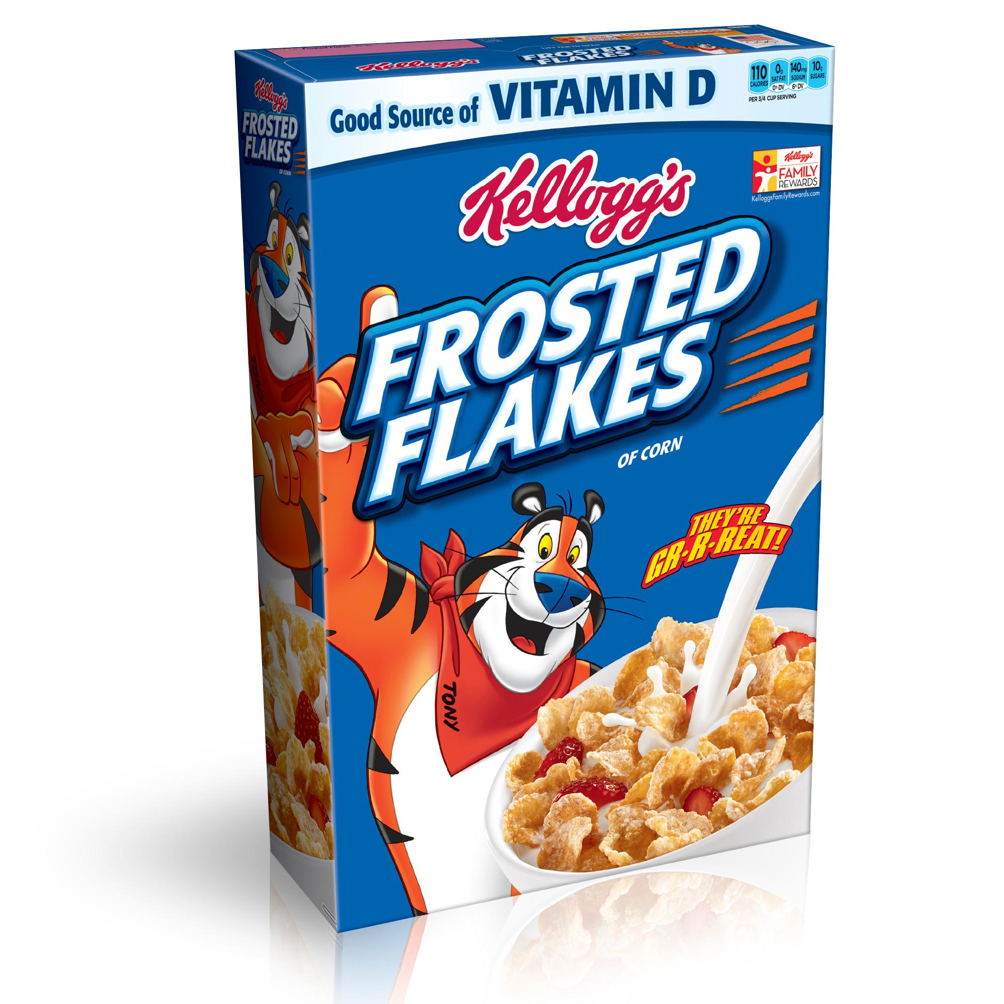 Amazon com kellogg s. Cereal clipart frosted flakes