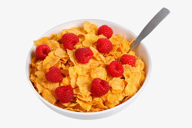 Corn flake milk cornflakes. Cereal clipart frosted flakes