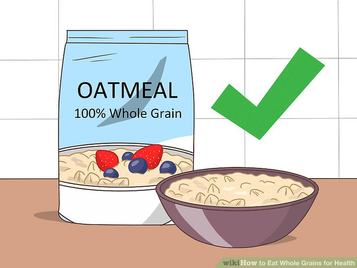How to eat whole. Cereal clipart healthy cereal