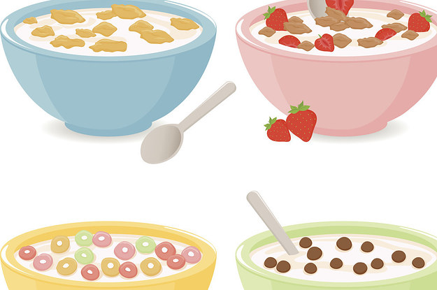 Can you pick the. Cereal clipart healthy cereal