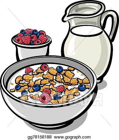 Vector art cereals and. Cereal clipart healthy cereal