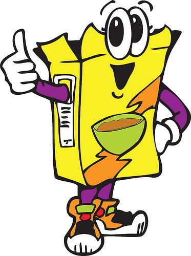 Box clip art library. Cereal clipart logo