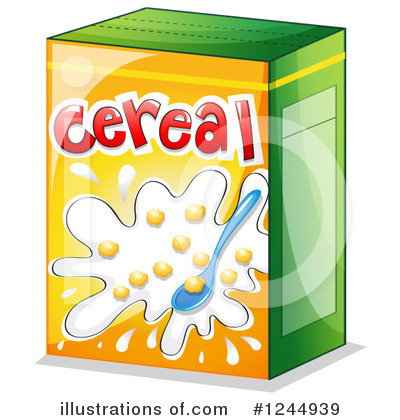 Illustration by graphics rf. Cereal clipart logo