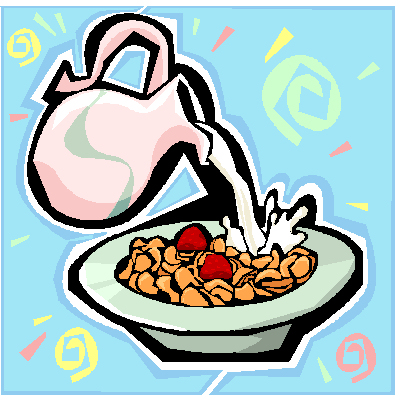 Tuesday top cereals the. Cereal clipart morning breakfast