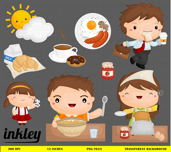 Cereal clipart morning breakfast. Clip art png coffee