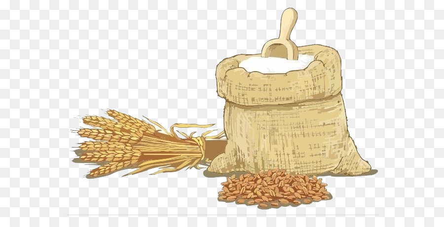 Wheat flour clip art. Cereal clipart rice plant