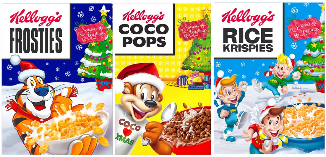Cereal clipart santa breakfast. Great british diet christmas