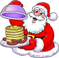 Cereal clipart santa breakfast. Free holiday cliparts download