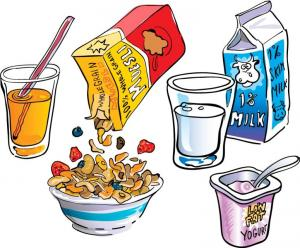 Fort cobb broxton public. Cereal clipart school breakfast