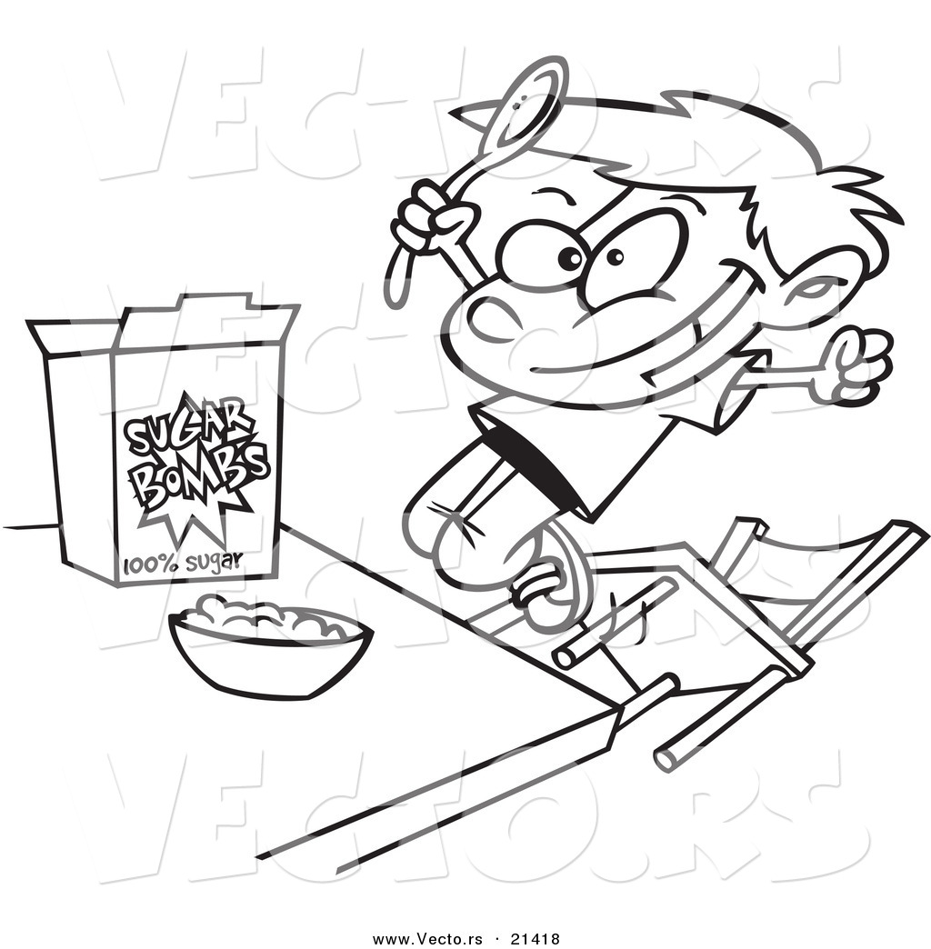 Cereal clipart sketch. Drawing at getdrawings com