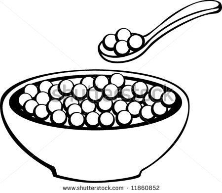 Bowl drawing free download. Cereal clipart sketch