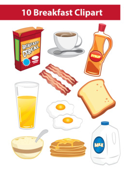 breakfast by mr. Cereal clipart teacher