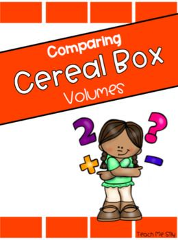 Box volume challenge by. Cereal clipart teacher