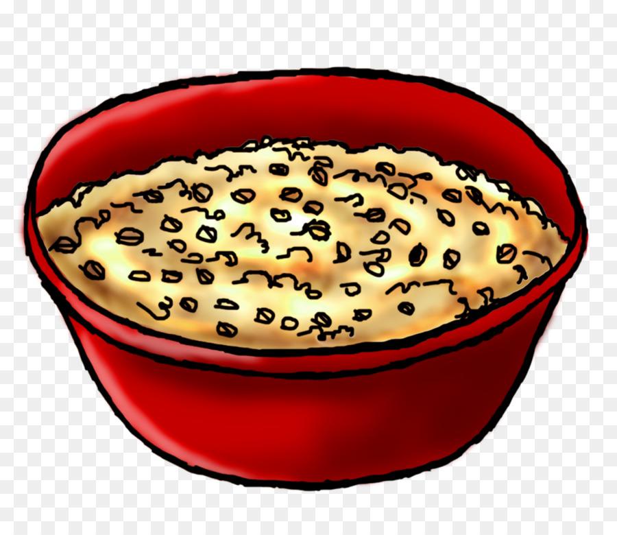 Oatmeal cookie breakfast porridge. Cereal clipart transparent background