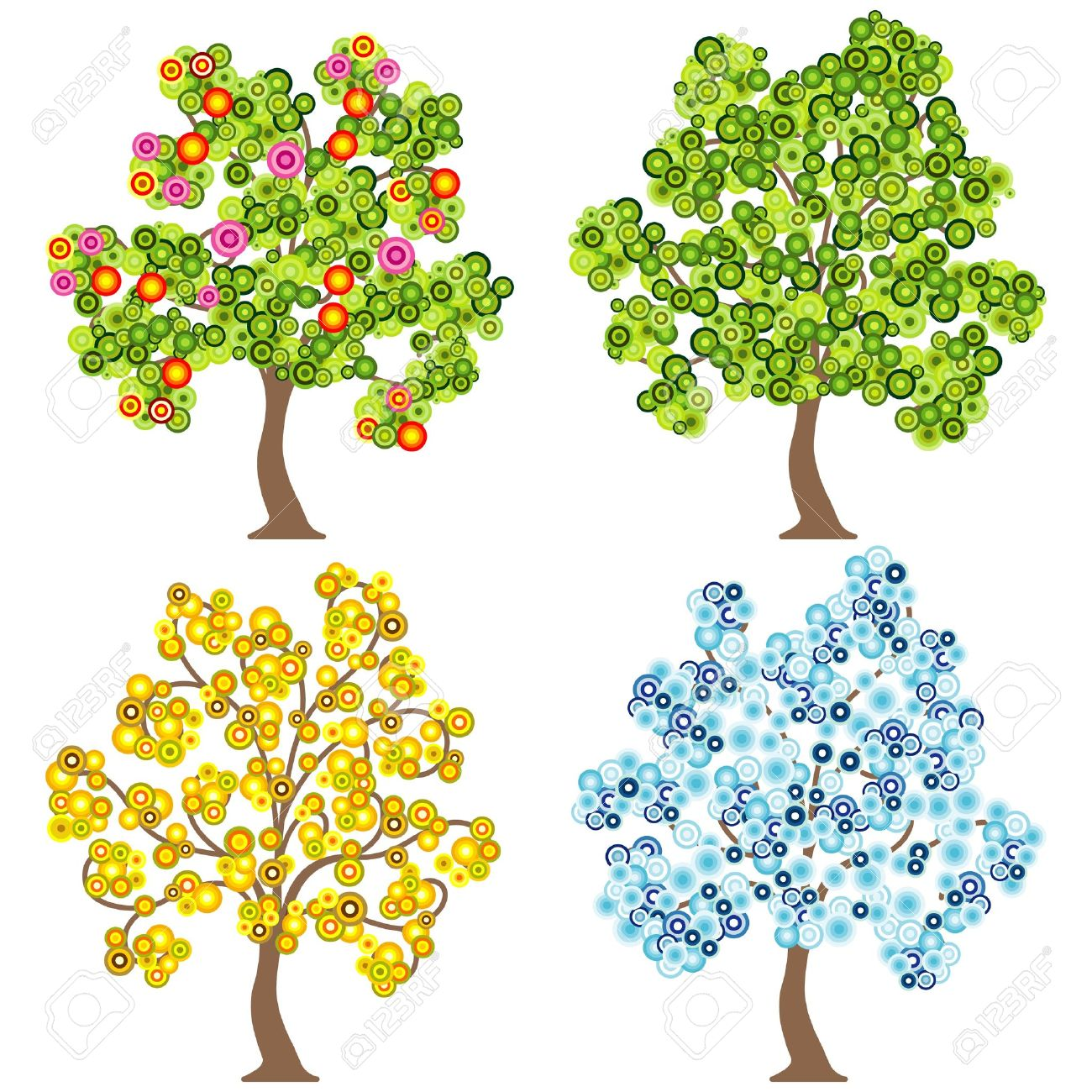 Trees. Cereal clipart tree