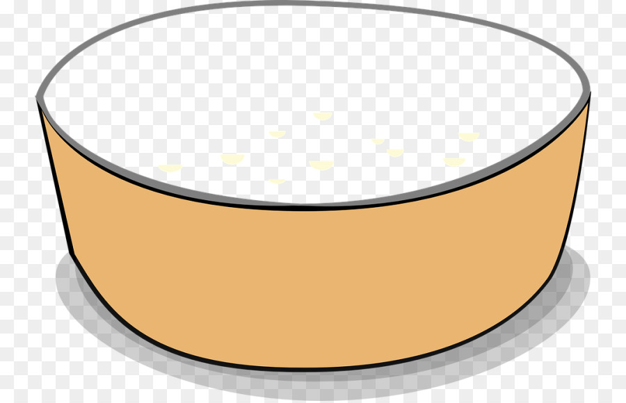 Circle breakfast food transparent. Cereal clipart yellow