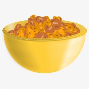 Cereal clipart yellow. Bowl png transparent cartoon