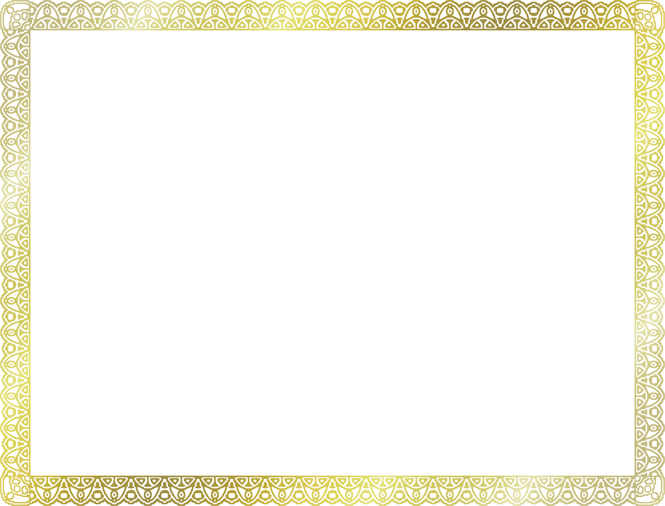 Clipart us size big. Certificate border png