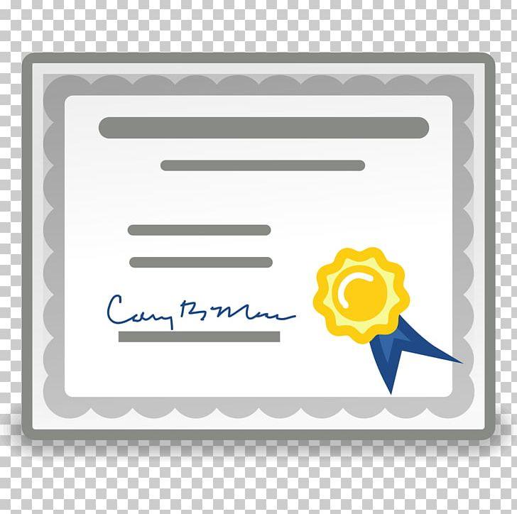 Certificate clipart. Public key authority certification