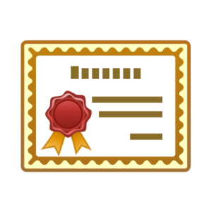 Certificate clipart. Clip art free image
