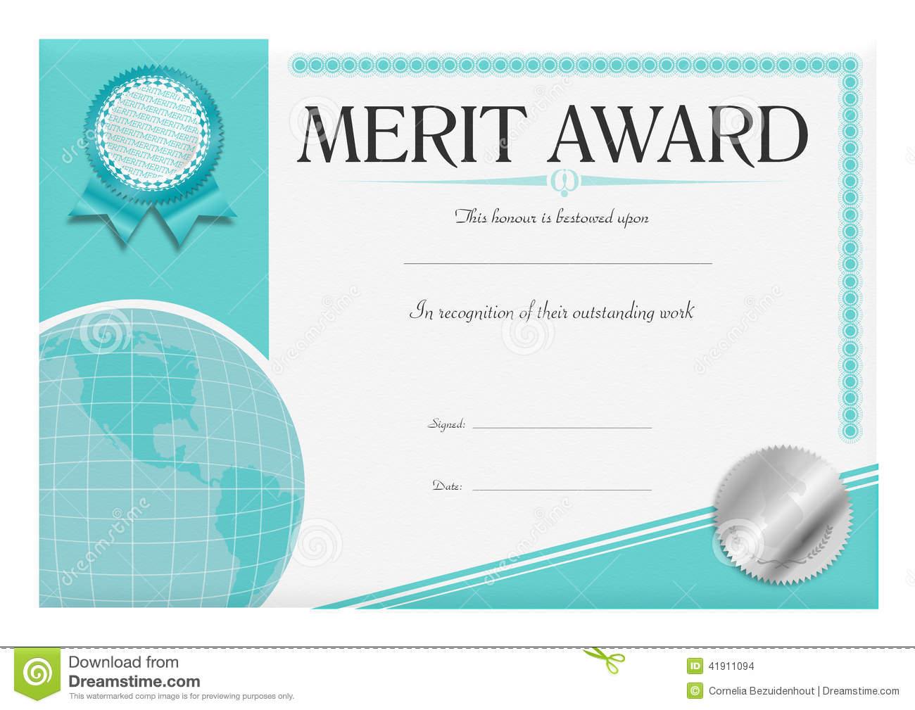 Certificate clipart award certificate. Merit panda free images