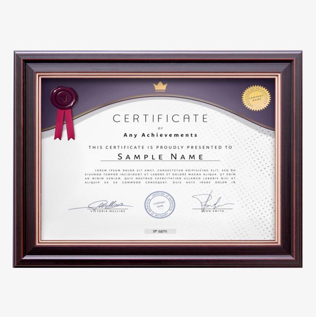 Certificate clipart award certificate. A box the prize