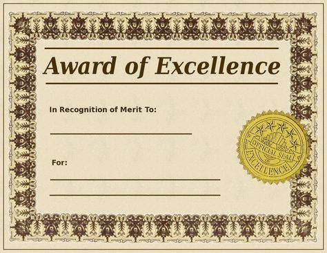 Pinterest . Certificate clipart award certificate