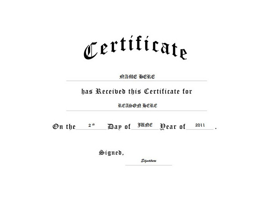 Certificate clipart black and white. Generic free templates clip