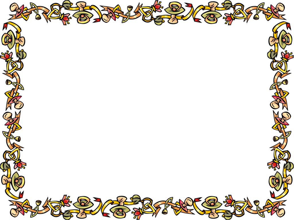 Home design border for. Certificate clipart borders