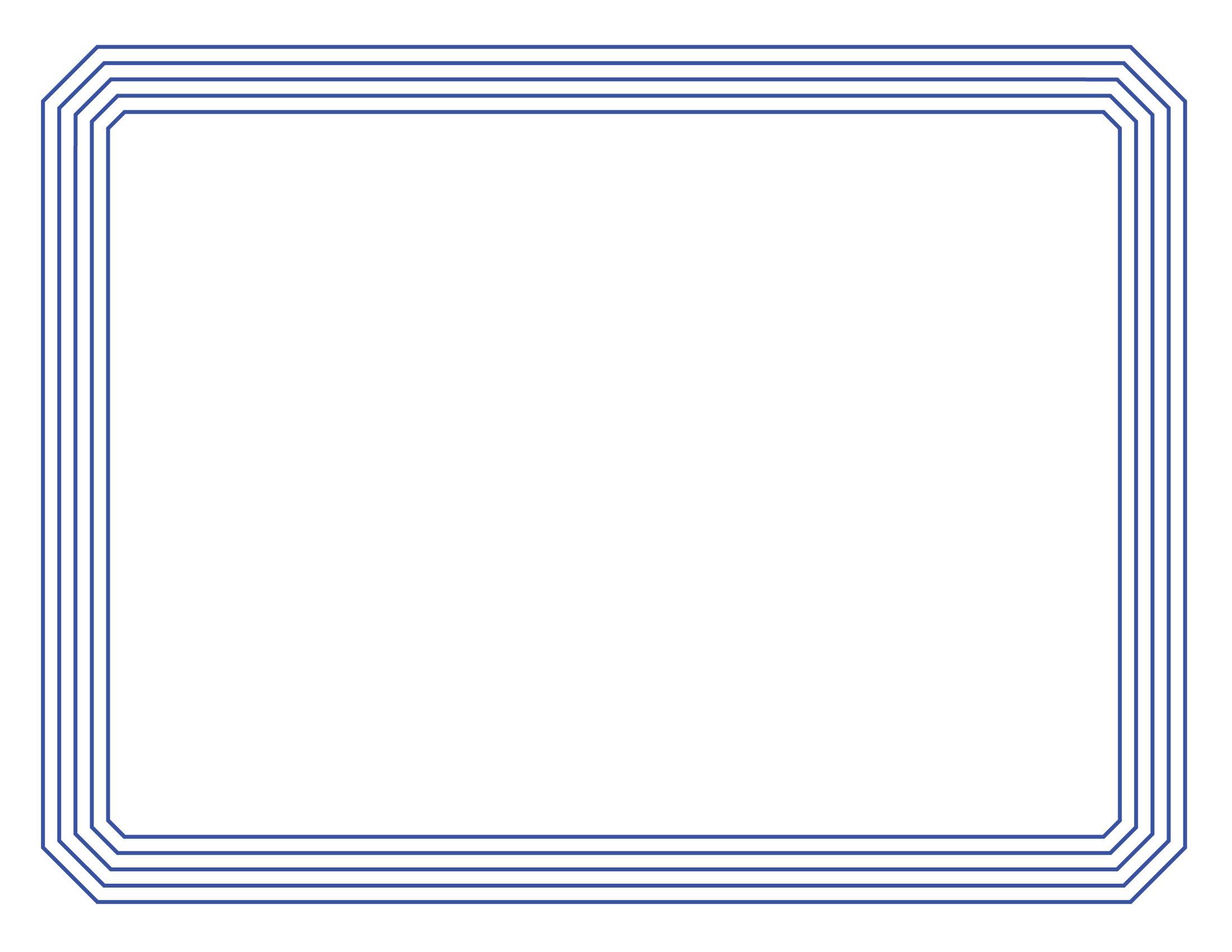 Certificate clipart borders. Border