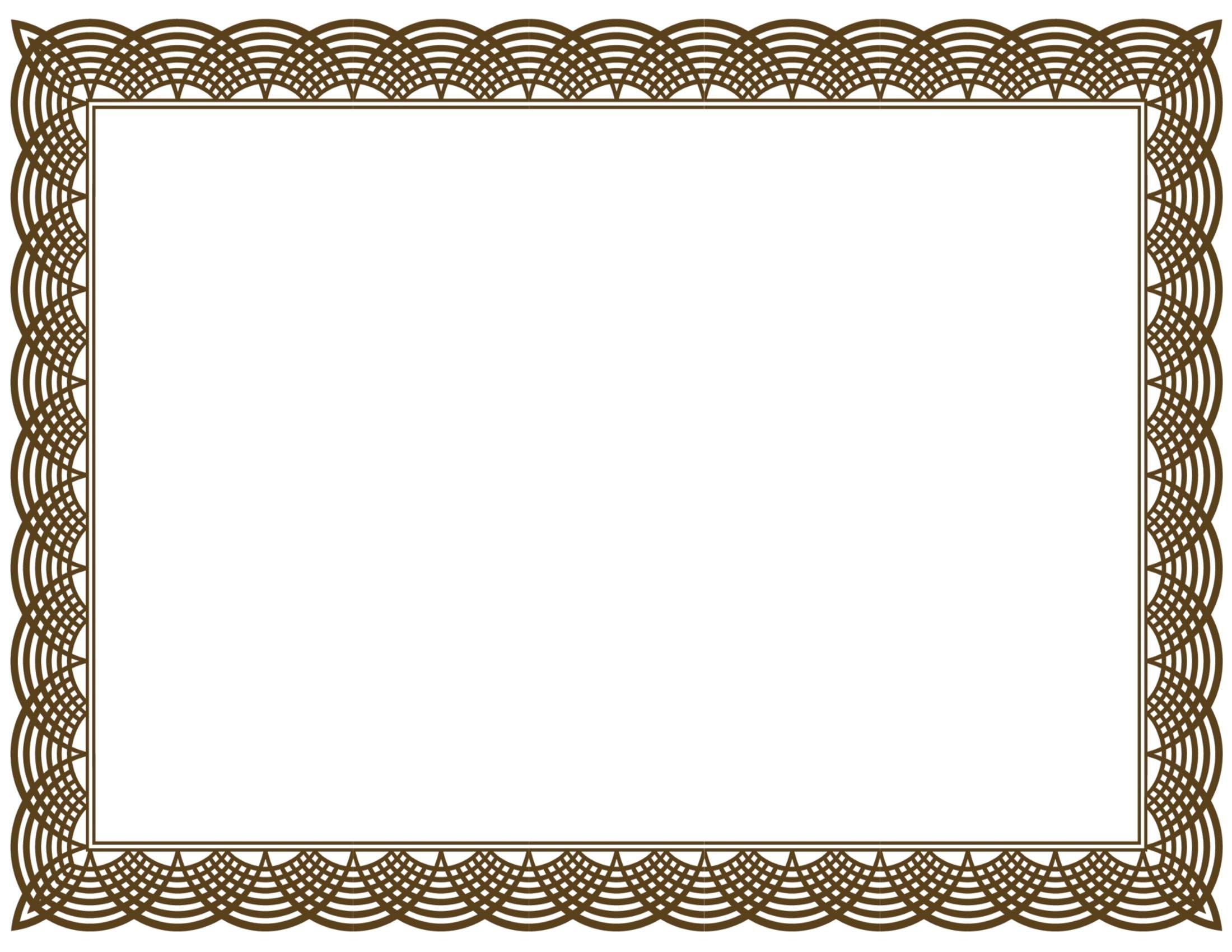 Free border incep imagine. Certificate clipart borders