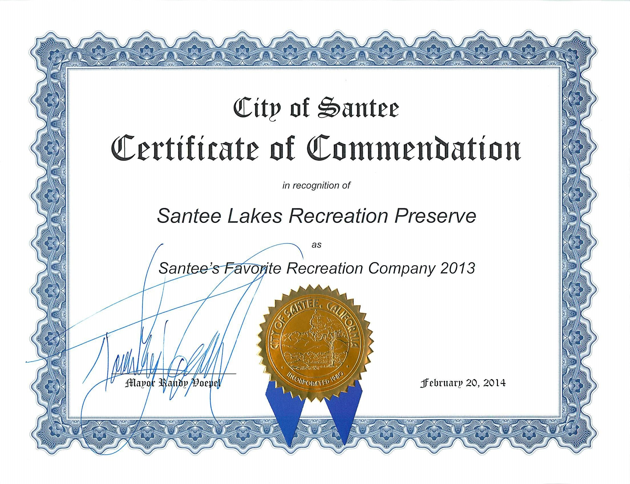 Of commendation from the. Certificate clipart certificate recognition
