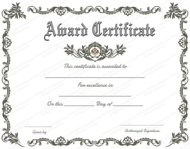 Free printable of recognition. Certificate clipart certification