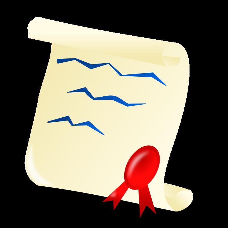 Certificate clip art best. Scroll clipart diploma