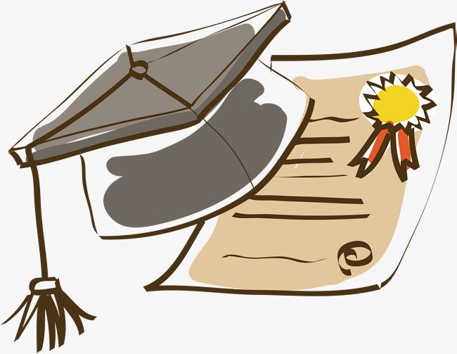 Certificate clipart doctor. Cap award vector dr
