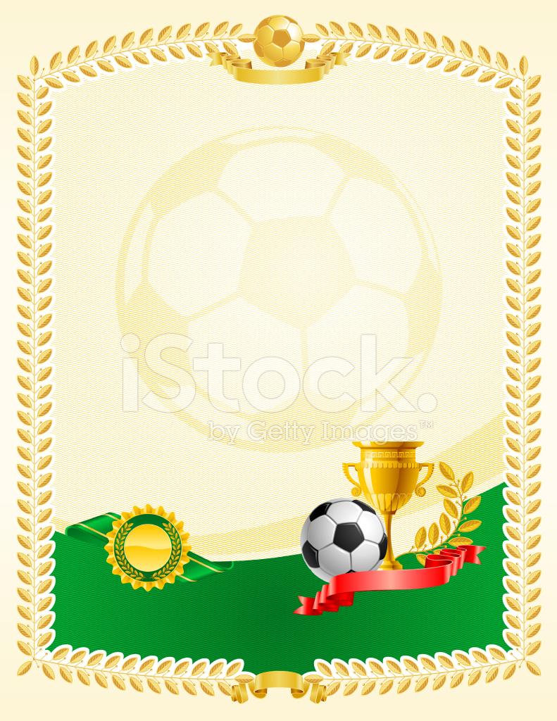 Certificate Clipart Football Certificate Football