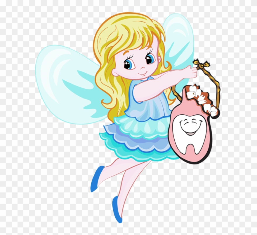 Tooth printable certificate . Fairy clipart pdf