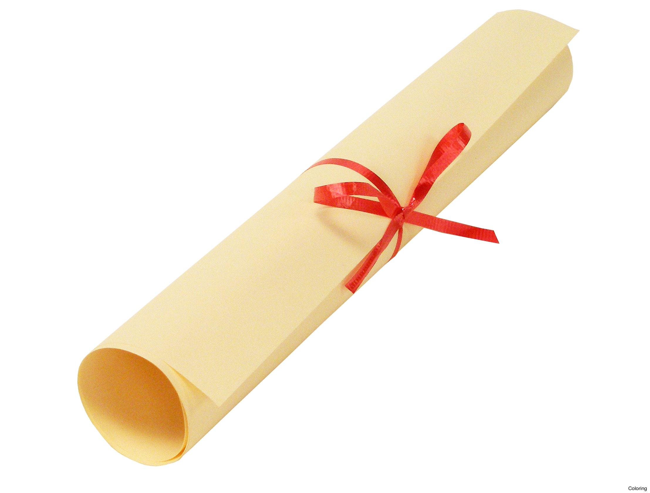 Diploma clipartuse graduation cap. Certificate clipart scroll