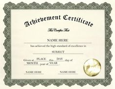 Certificates of completion templates. Certificate clipart training certificate