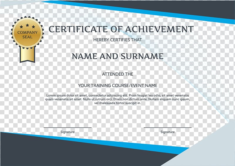 Certificate clipart training certificate. Graduation ceremony brand party