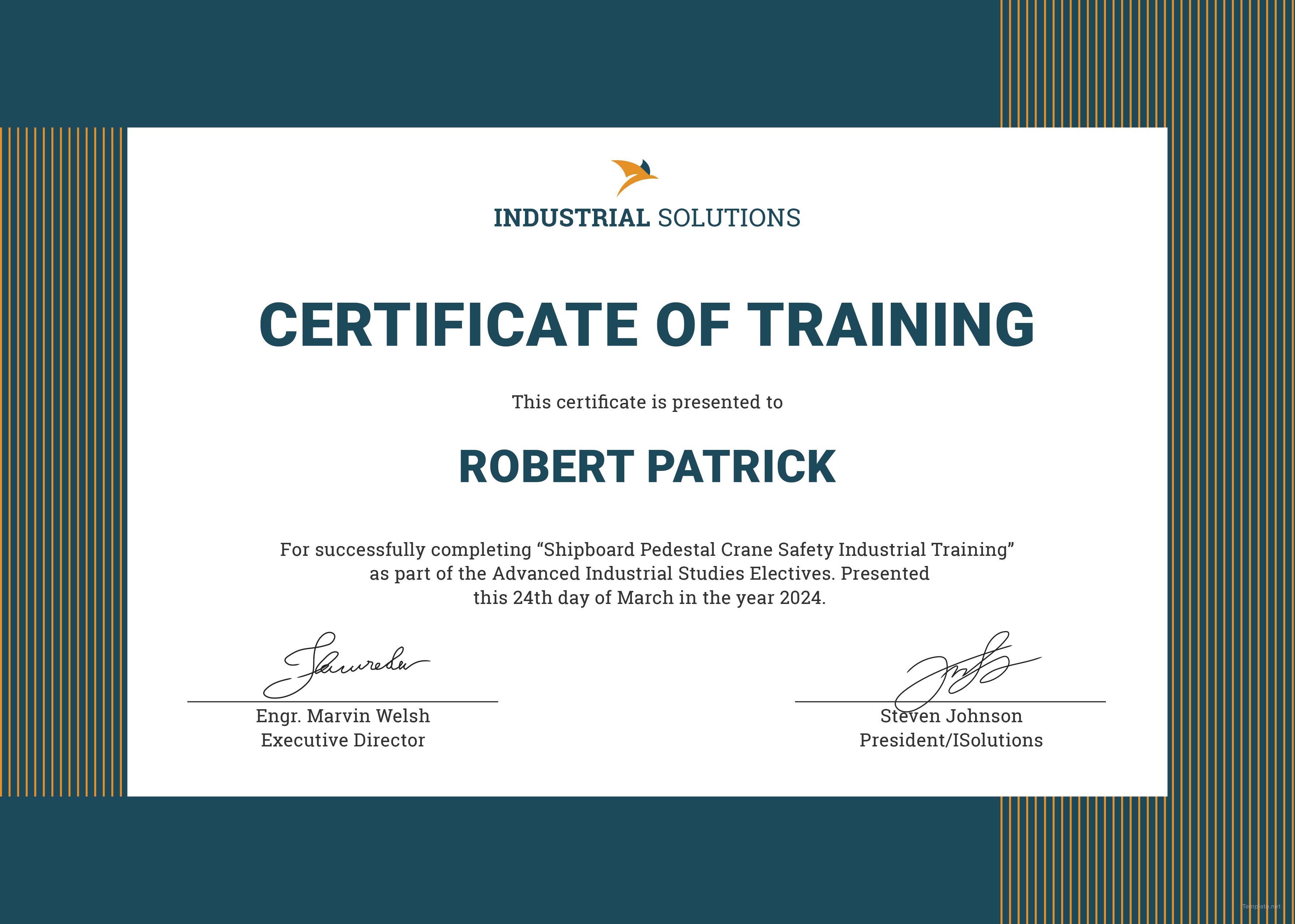 Certificate clipart training certificate. Vrtogo co