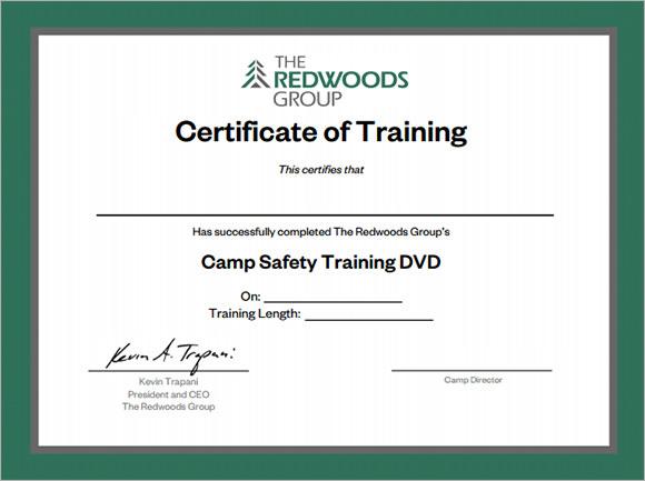 Certificate clipart training certificate. Certificates format incep imagine